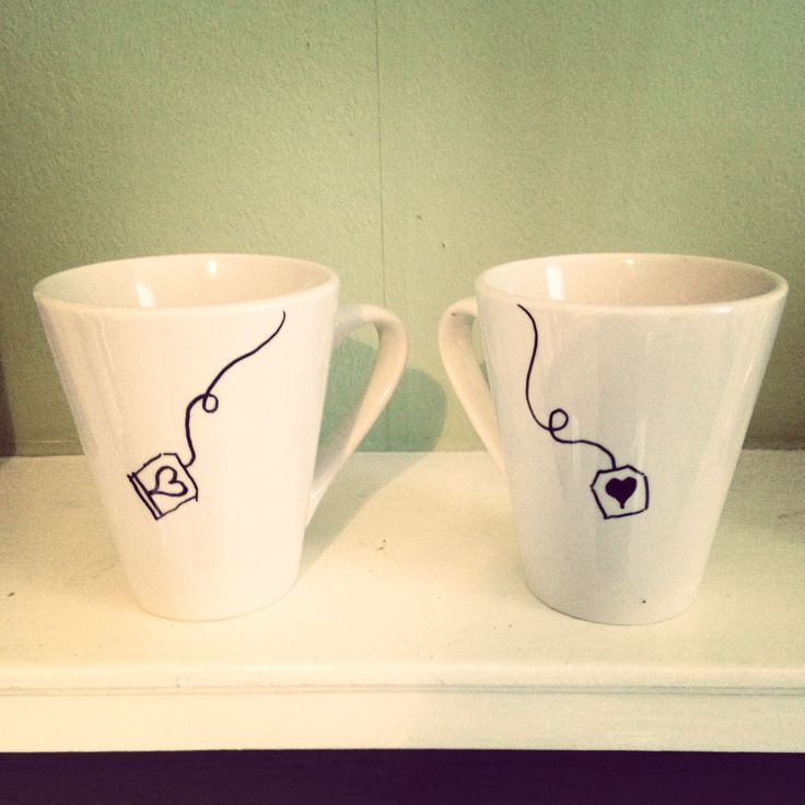 diy valentine's day mug