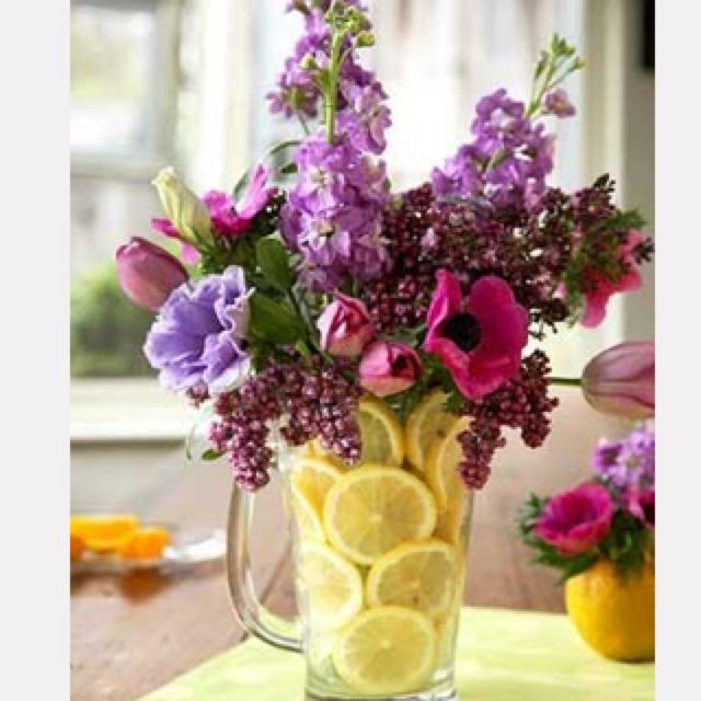 Beautiful Flower Arrangement Crafty Pinterest