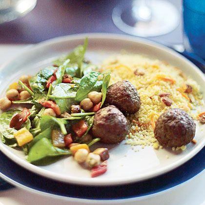 Moroccan Spiced Lamb Meatballs | Recipe