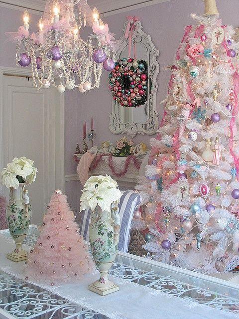Beautiful Shabby Christmas Decor Ideas.. | Shabby Chic | Pinterest