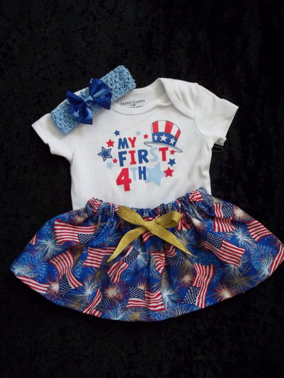 newborn girl fourth of july outfits