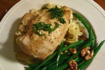 tarragon chicken fricassee