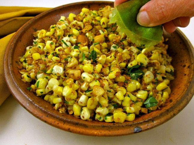 Corn and coconut thai salad | Salad | Pinterest