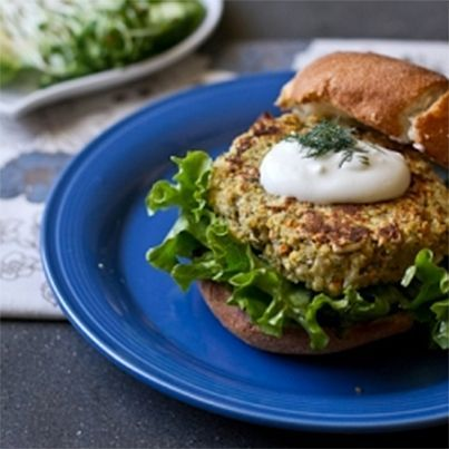 Falafel Veggie Burgers | Gf | Pinterest