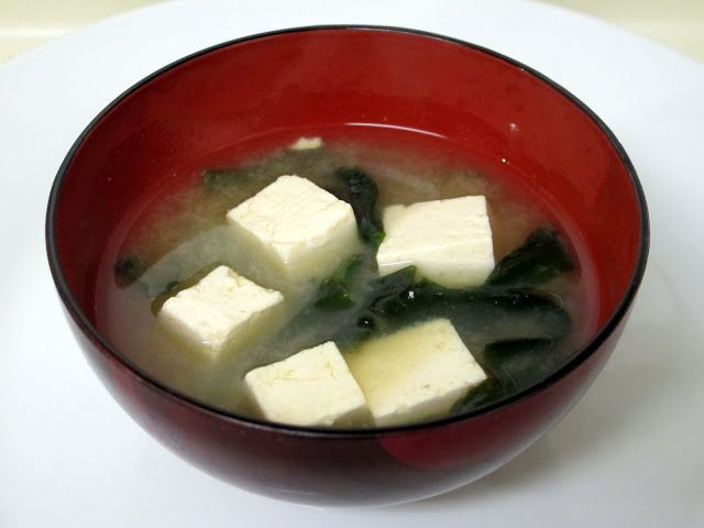 JAPANESE MISO SOUP | Asian soups | Pinterest