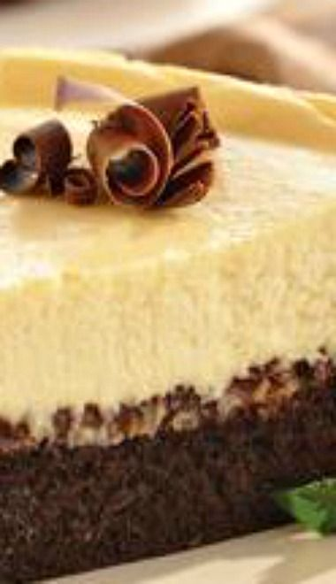 Brownie Chocolate Chip Cheesecake | Cheesecake Factory | Pinterest
