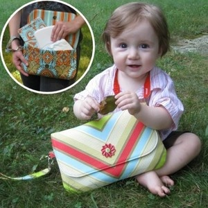 Does It All Diaper Clutch PDF Sewing Pattern