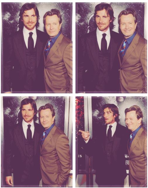 Christian Bale & Gary Oldman