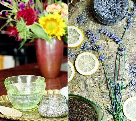 Lavender Simple Syrup | That's good herb, man... | Pinterest