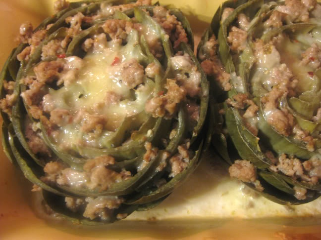 Italian Stuffed Artichokes | Vegetables | Pinterest