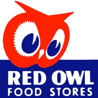 Red Owl - I think outside of his final job, Dad liked working here the best!