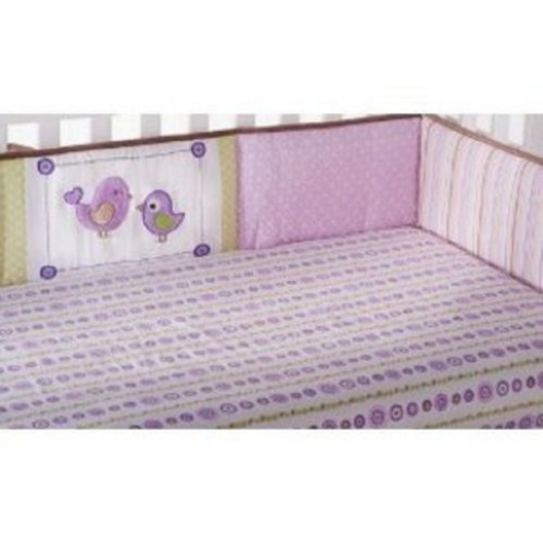 Purple and green baby bedding ideas for our new baby girl 0 pi