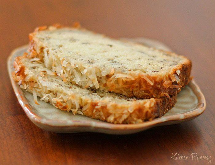 Coconut Banana Bread   Quick Breads   Pinterest