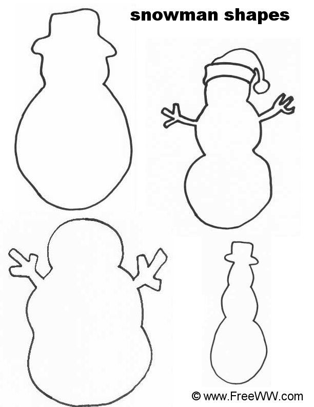 Snowman Patterns | Elementary art christmas | Pinterest