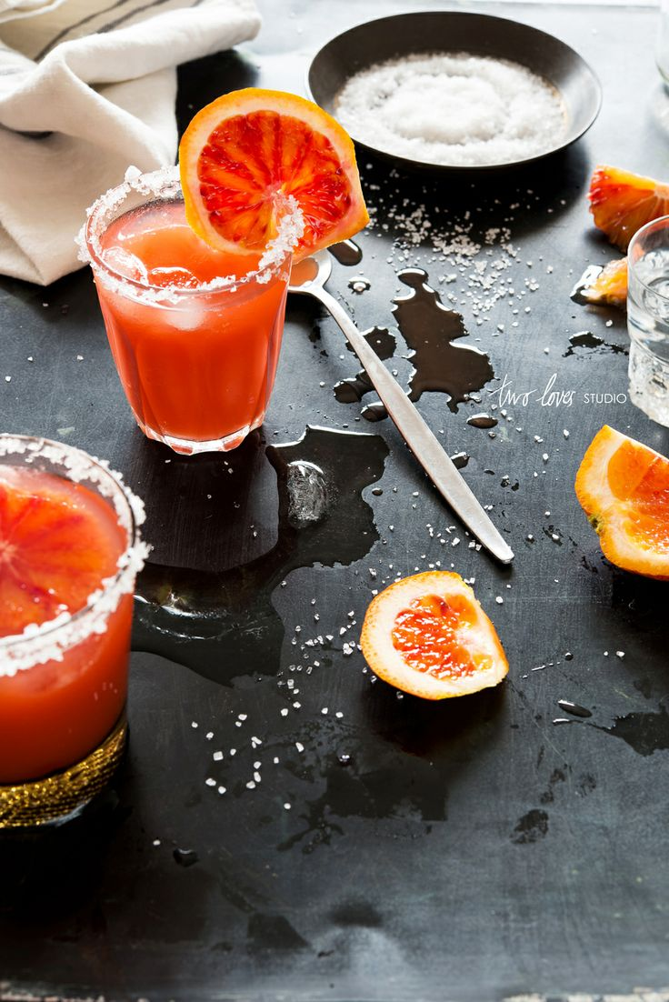 Blood orange margaritas | © Two Loves Studio #cocktail #ryankerby