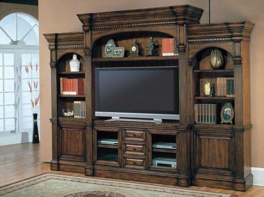 entertainment center decorating pinterest. Black Bedroom Furniture Sets. Home Design Ideas