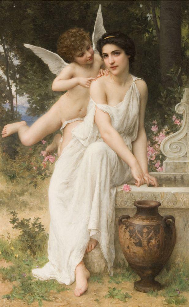 El susurro del Amor - Charles-Amable Lenoir