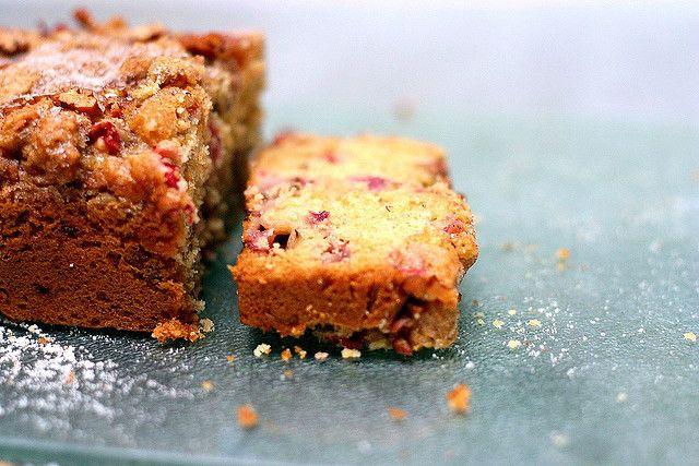 Strawberry Rhubarb Pecan Loaf | Sweet Loave'n | Pinterest