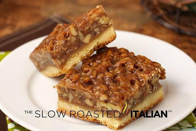 CenterCutCook (Facebook) The Best Ever Pecan Pie Bars from The Slow ...