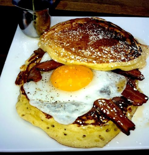 Momma Dobias' Pancake Sandwich Recipe on Yummly