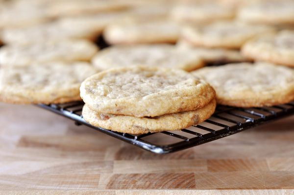 Heath Bar Cookies- thin, buttery, and chewy