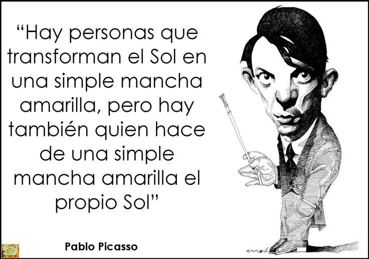 Pablo Picasso | Frases célebres | Pinterest