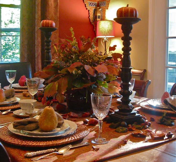 Fall Table Settings Adorable Of Fall Table Setting Picture