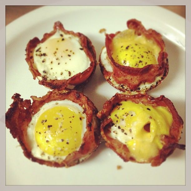 bacon egg and toast cups - nailsandnoms | Foody Goodies | Pinterest