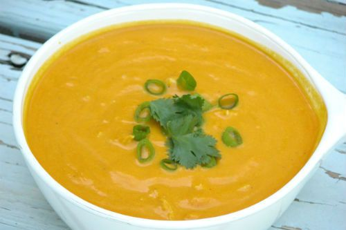 Coconut Curry Carrot Soup | Cooking - I Love Coconut | Pinterest