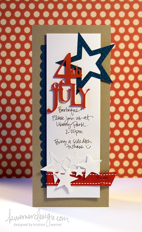 Party Frosting: 4thJuly-invite | Summer | Pinterest