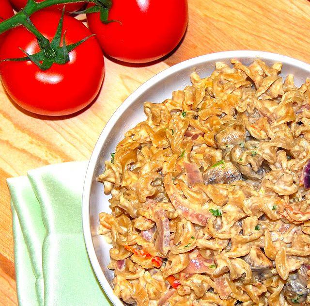 Pasta with Chipotle Cashew Cream   Recipe