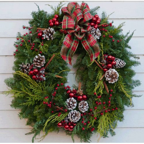 Lake House Wreath...Love it! | Holiday Ideas | Pinterest