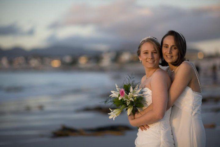 Gay and lesbian wedding