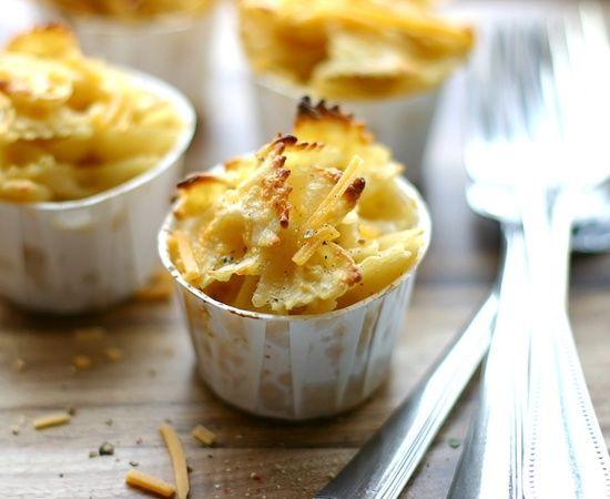 ... me heerlijk als bijgerecht: Mac and cheese... cupcakes! - Libelle