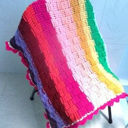 How to Crochet a V Stitch Afghan: 5 Steps (with Pictures)