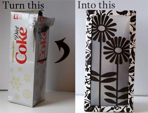 Square Paper Lantern Craft