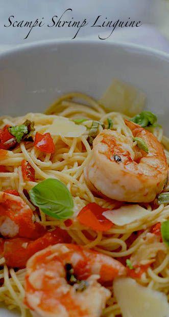 Shrimp Scampi Pasta | din din | Pinterest