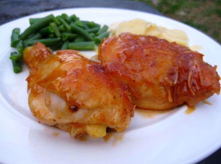 Apricot, Balsamic Chicken | Summer Sugar | Pinterest