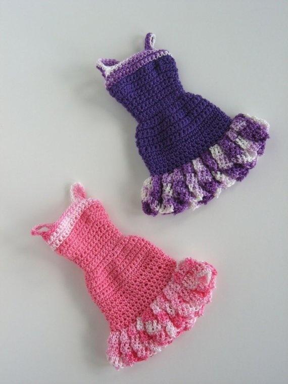 barbie dress Crocheting Pinterest