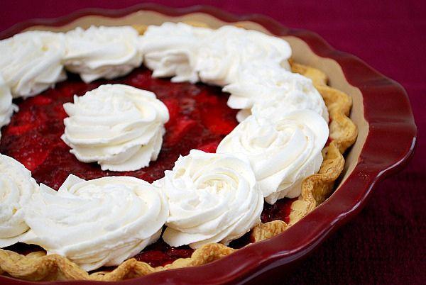 Icebox Strawberry Pie | Pies | Pinterest