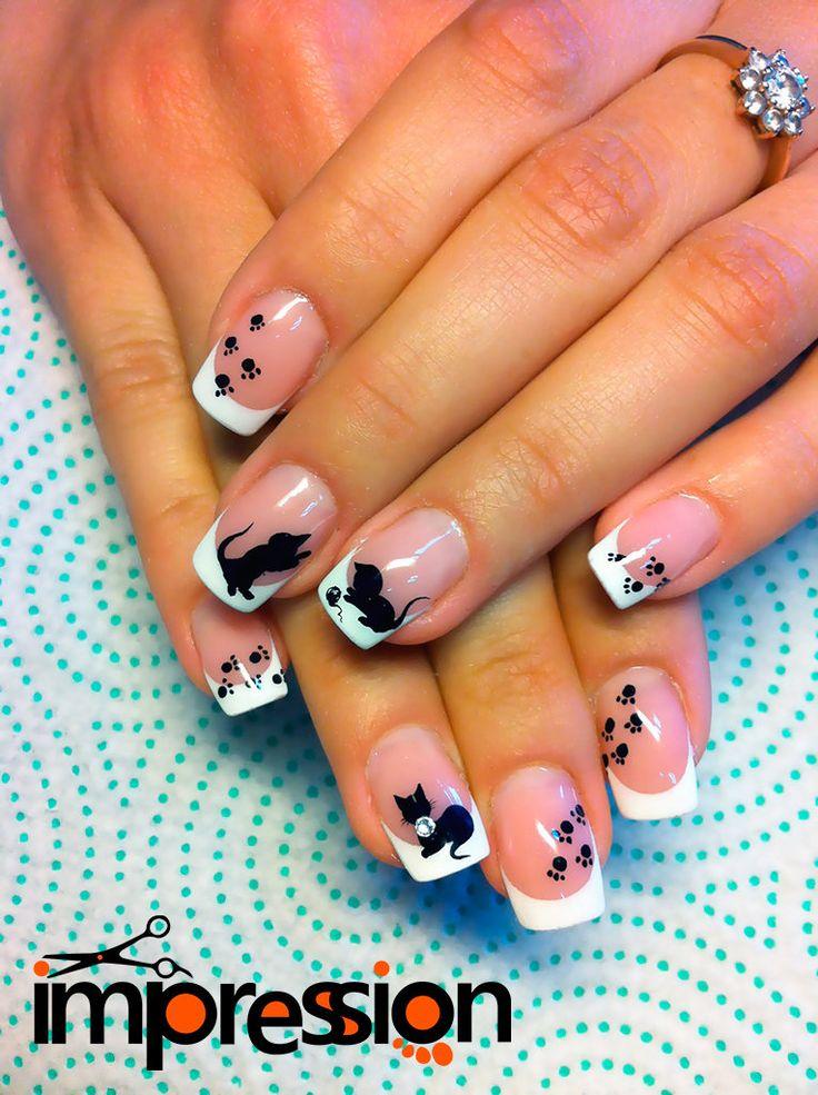 Рисунки На Короткие Ногти Гель Лаком Фото