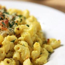 macaroni amp cheese with tofu punchfork