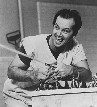 Love those brows! Jack Nicholson