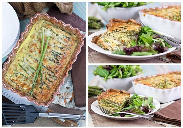 Asparagus and Cheese Quiche – Crust In, Grains Out! | The Healthy ...