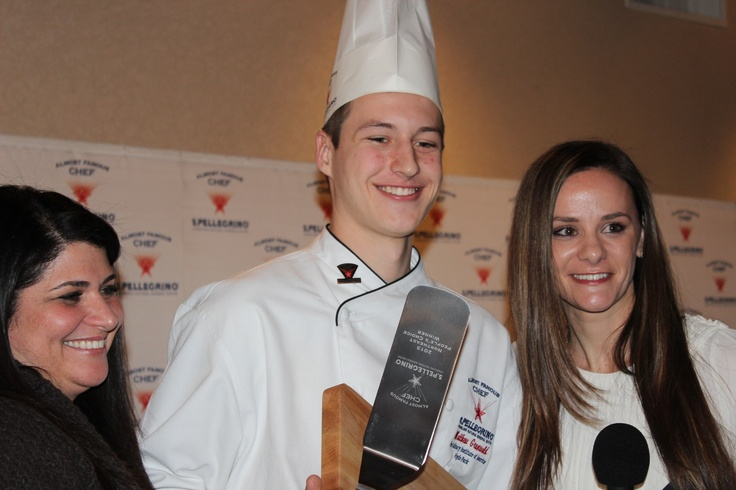 "S. Pellegrino ""Almost Famous Chef"" Competition's ""People's Choice Winner, Matthew Grunwald"