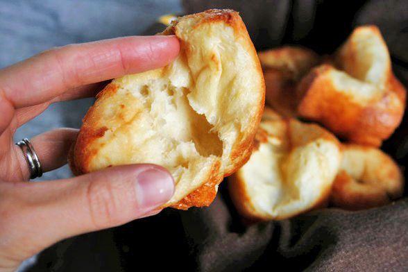 S'mores Popovers Recipe — Dishmaps