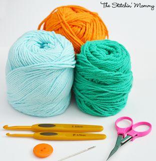 Crochet Star Stitch Pumpkin Coffee Cozy www.thestitchinmommy.com