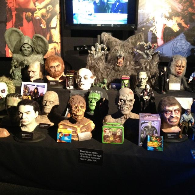 Kirk Hammett's horror collection | Horror Man Cave | Pinterest