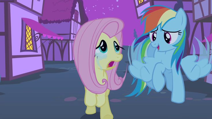 Fluttershy crying | My Little Pony | Pinterest