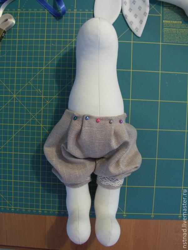 Как сшить штаны для зайца 5